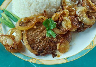 bistec de res cubano