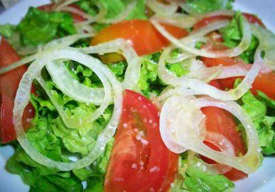 ensalada cubana tomate