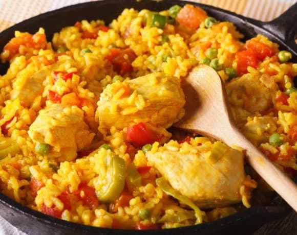 receta arroz con pollo