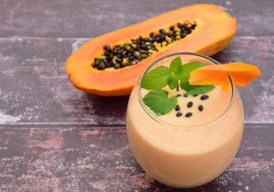 batido de papaya receta