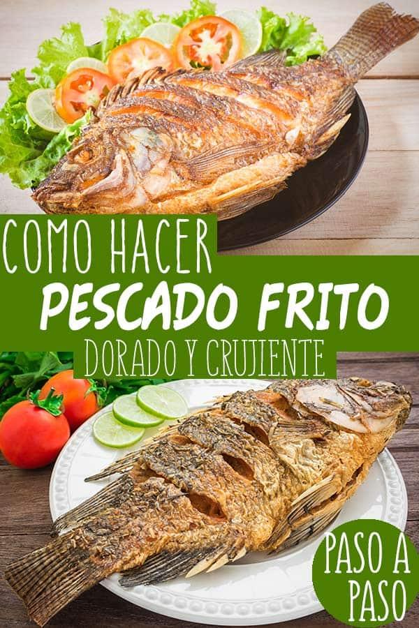pescado frito entero
