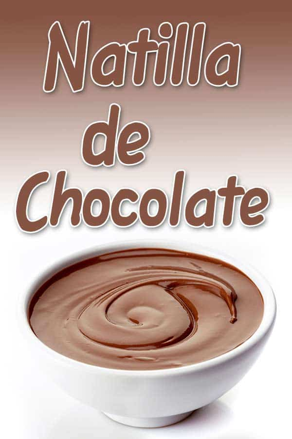 receta natilla de chocolate