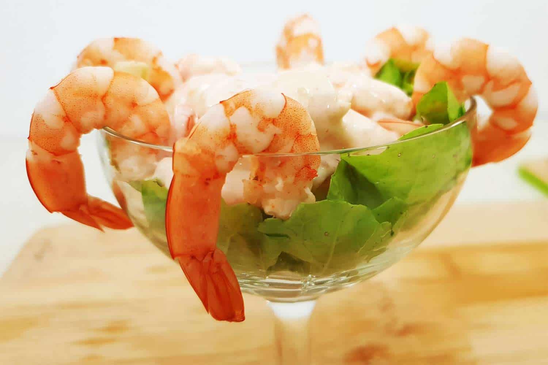 Coctel de camar n receta e ingredientes c mo hacer en 5 - Coctel de marisco ingredientes ...