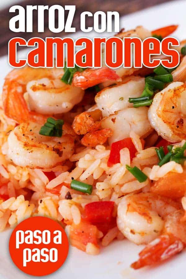 arroz con camarones cubano