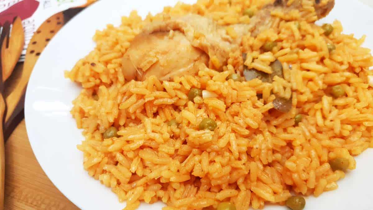 Receta de arroz con pollo a la chorrera