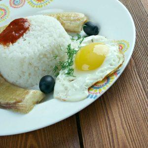 arroz a la cubana