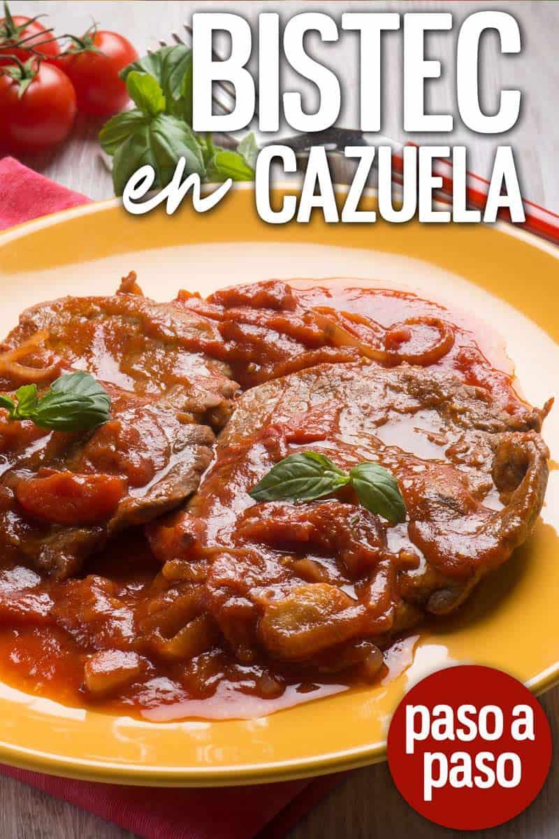 bistec en cazuela cubano