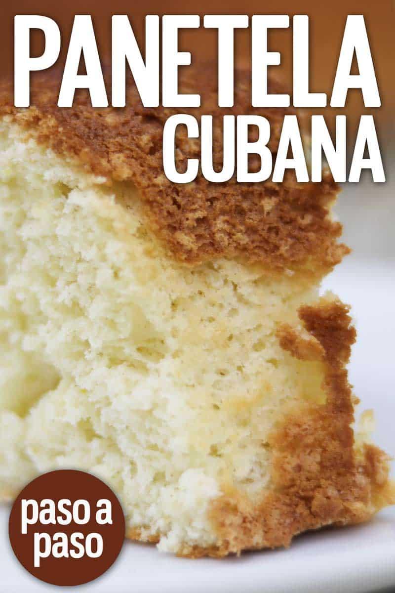 panetela cubana casera