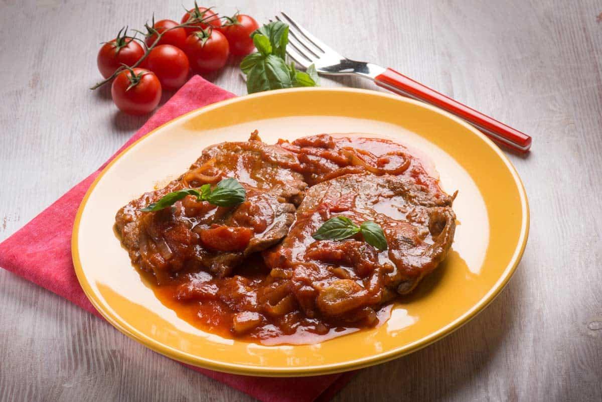 receta bistec en cazuela