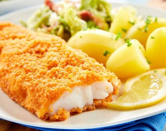 pescado empanizado